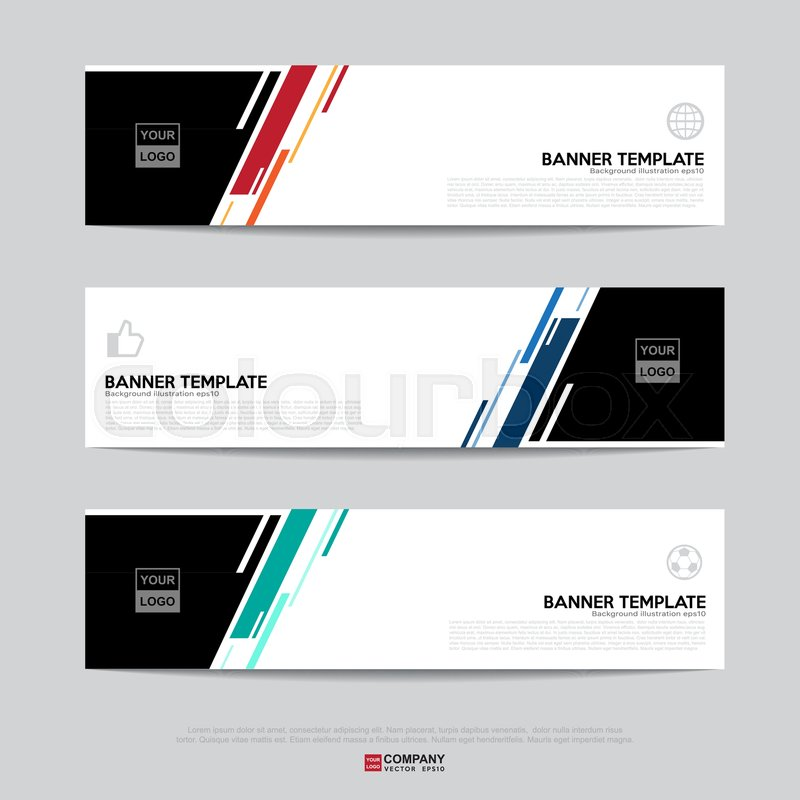 Design of flyers banners brochures and cards templatebanner design of flyers banners brochures and cards templatebanner design for business presentationheader templatebanner for web template vector accmission Images