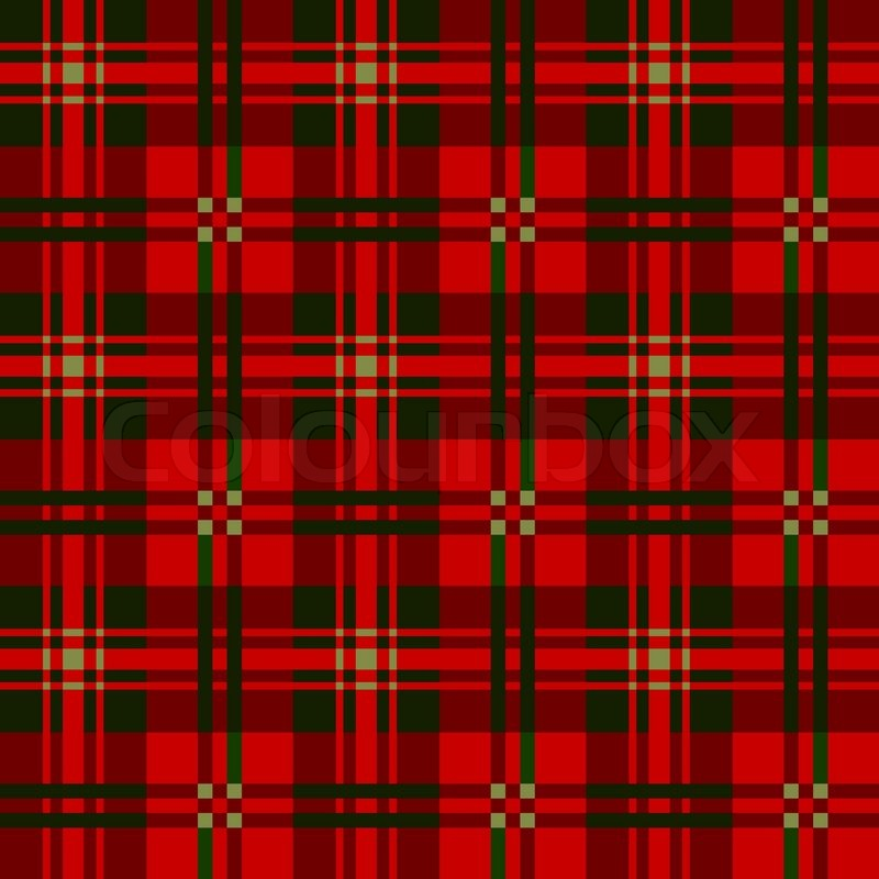 tartan plaid patterns vector stock vector colourbox - Christmas Plaid
