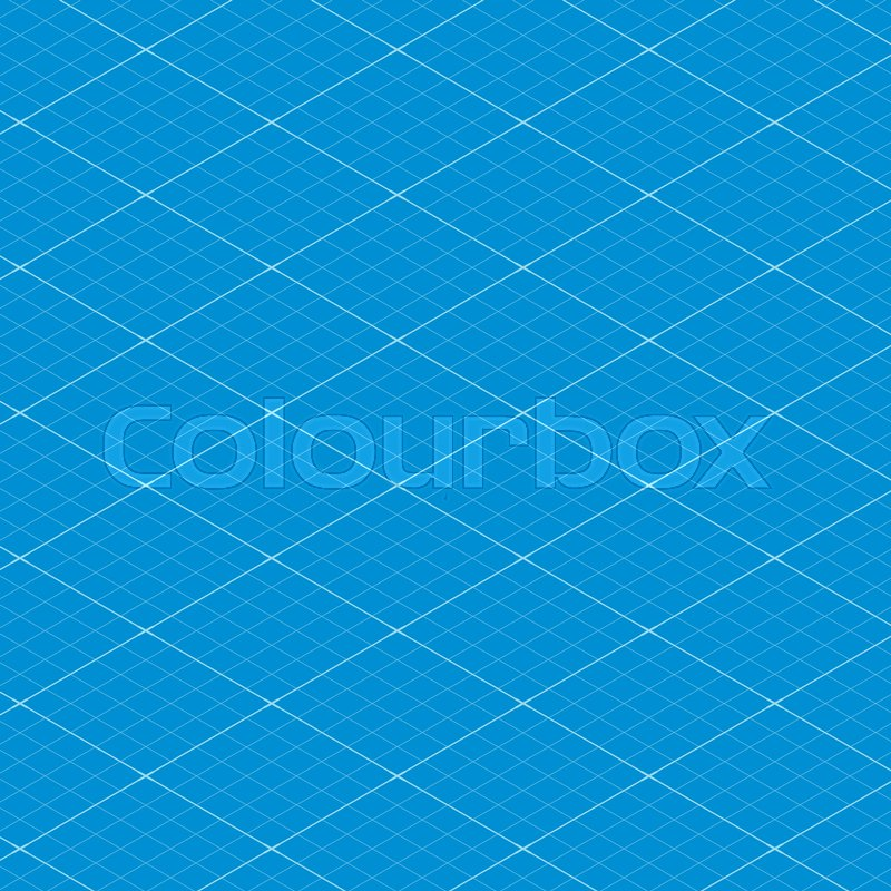 Isometric blueprint grid seamless pattern texture background vector isometric blueprint grid seamless pattern texture background vector illustration stock vector colourbox malvernweather Images