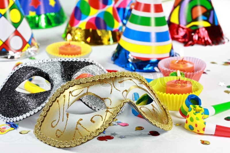 Image of 'Party accessories for New Year Eve, birthday party or