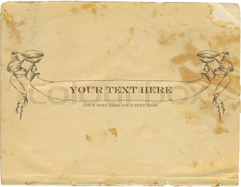Old fashioned paper template goalblockety old fashioned paper template toneelgroepblik Images