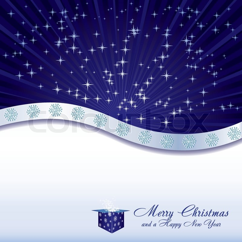 Blue Christmas Background Wallpaper Blue Christmas Background With