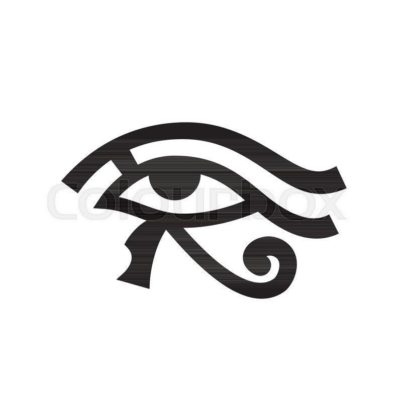 Horus Eye Wadjet Eye Of Ra Ancient Egyptian Hieroglyphic