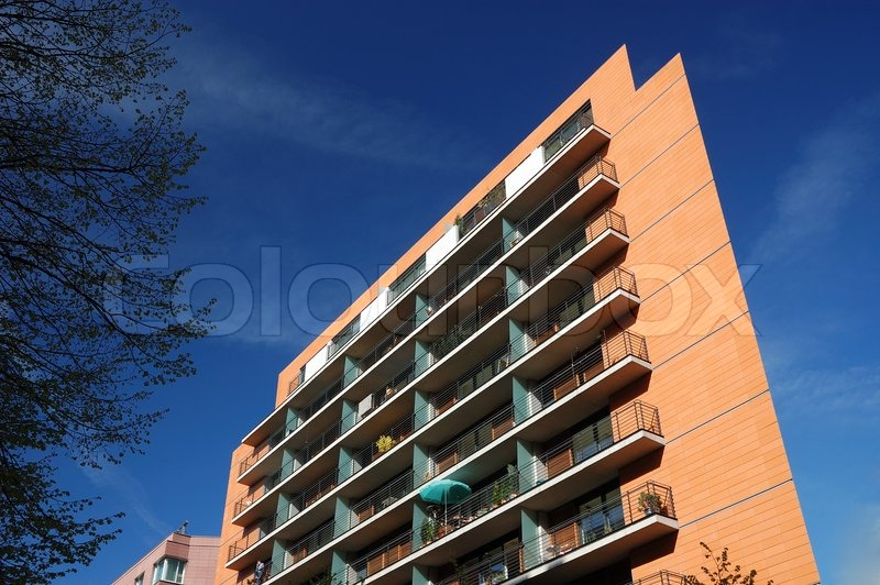 Modern apartment building | Stock Photo | Colourbox