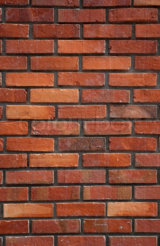 Red Brick Wall Background Stock Photo Colourbox