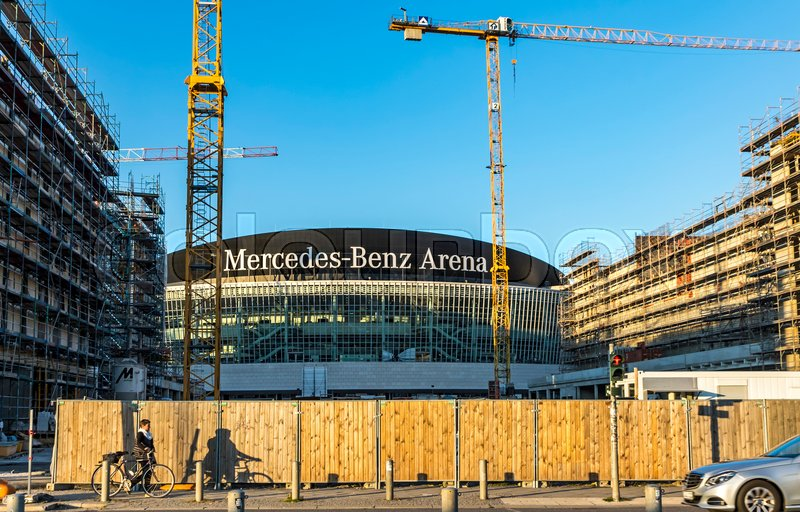 Berlin germany september 22 2017 construction site for Apartments near mercedes benz stadium