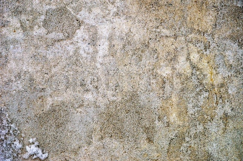 Obsolete Weathered Aged Cracked Rough Cement Concrete Background