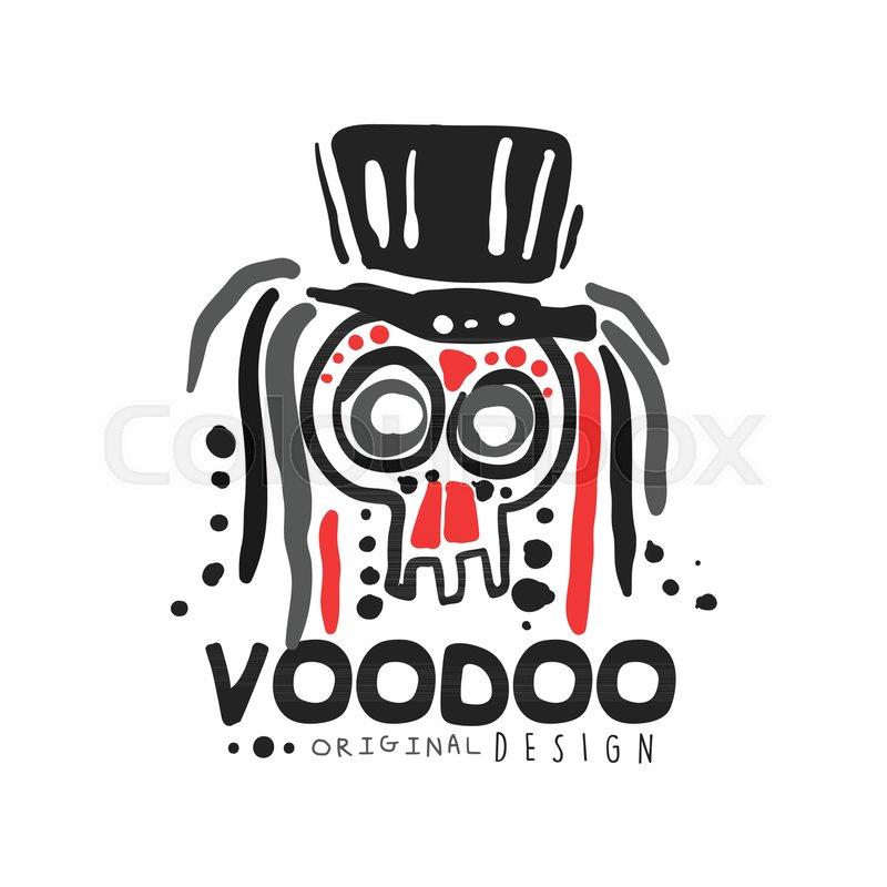 Voodoo African And American Magic Logo Or Label Design Abstract