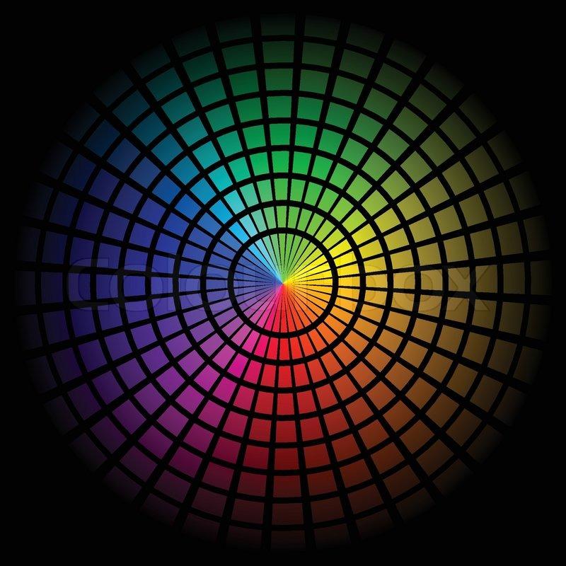 Spectrum Background Background With Spectrum