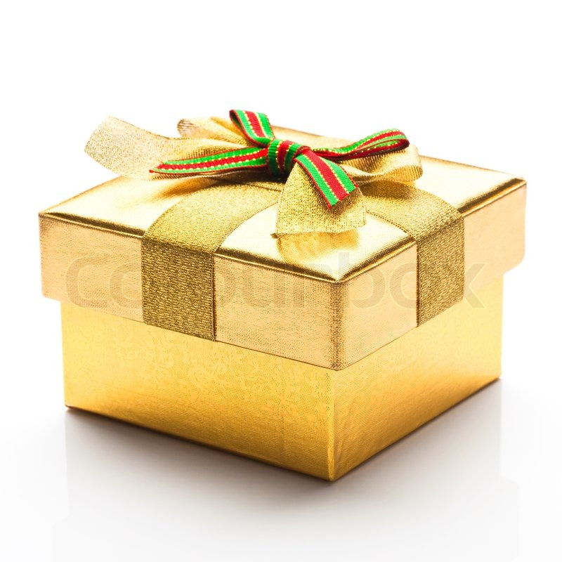 Beautiful gift box with a white background stock photo colourbox negle Images