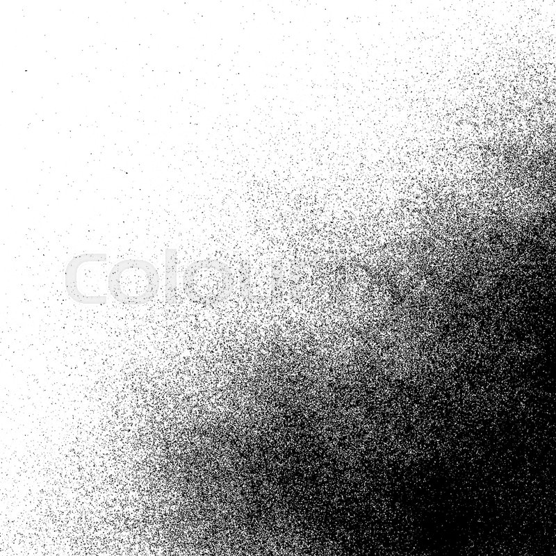 Vector monochrome spray paint decorative grunge realistic gradient