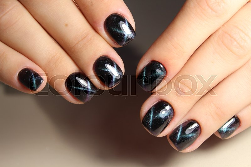 Perfect Manicure And Natural Nails Attractive Modern Nail Art