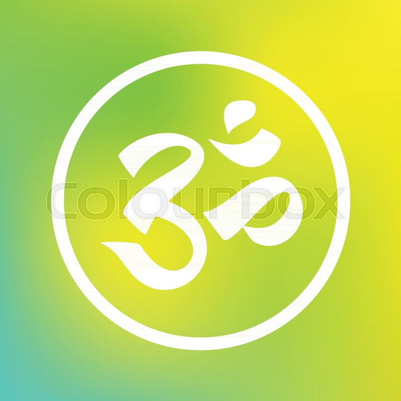 Om Symbol For Meditation Hinduism Zen Buddhism Religion Yoga