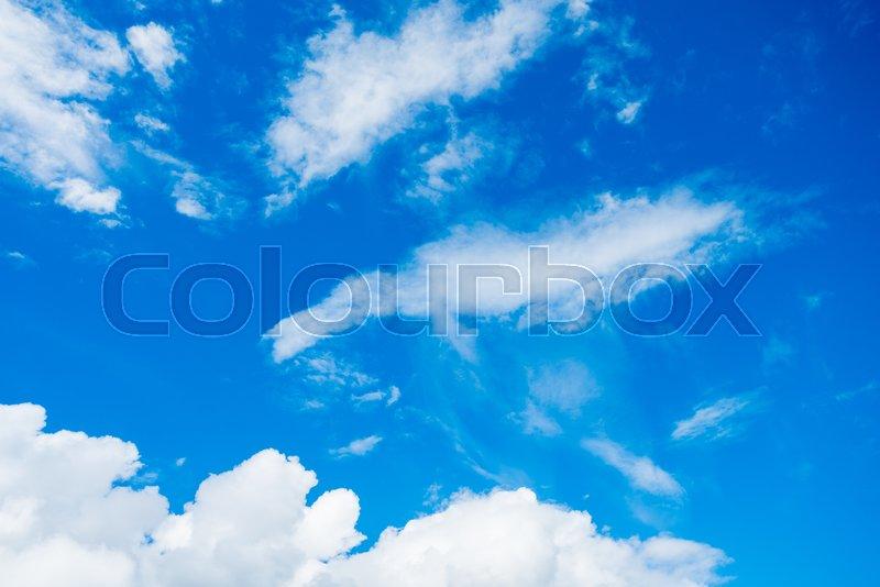 Clouds. sky clouds. blue sky. skyline, stock photo
