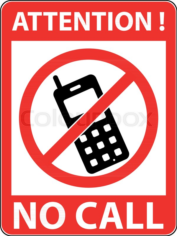 no phone telephone cellphone and smartphone prohibited symbol sign indicating the prohibition or rule warning and forbidden flat design
