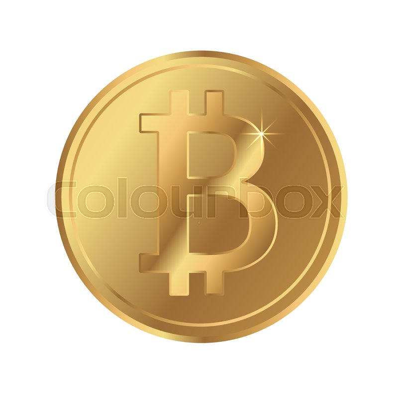 Bitcoin Blockchain Network Cryptocurrency Icon Btc Sign Symbol Coin