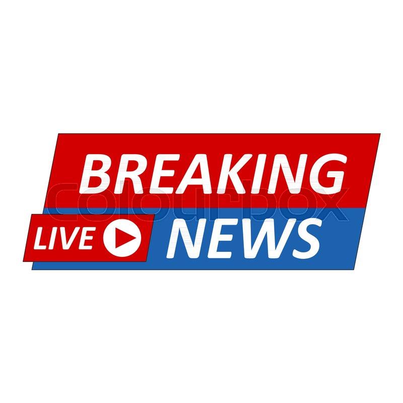 Breaking News: Breaking News Logo, Live Banner.TV ...
