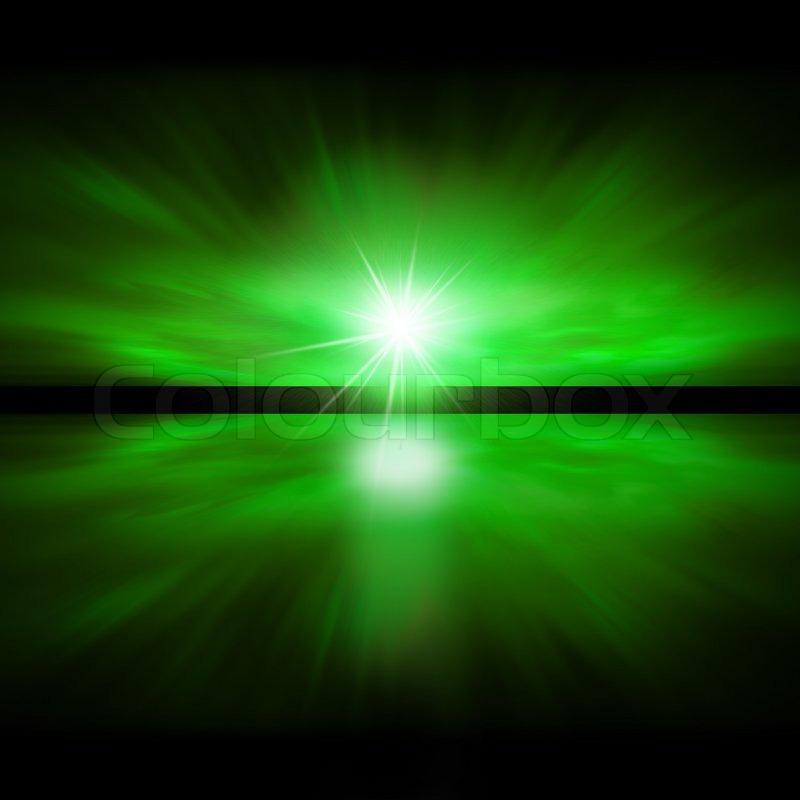 sky of green light - fractal landscape | stock photo | colourbox, Reel Combo