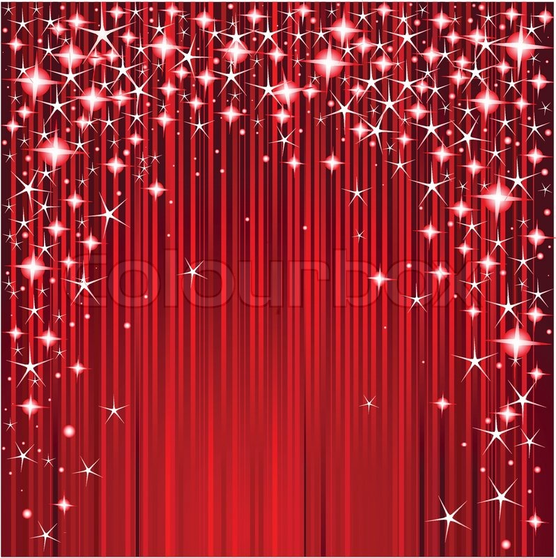 christmas design with stars and stripes | stock vector | colourbox