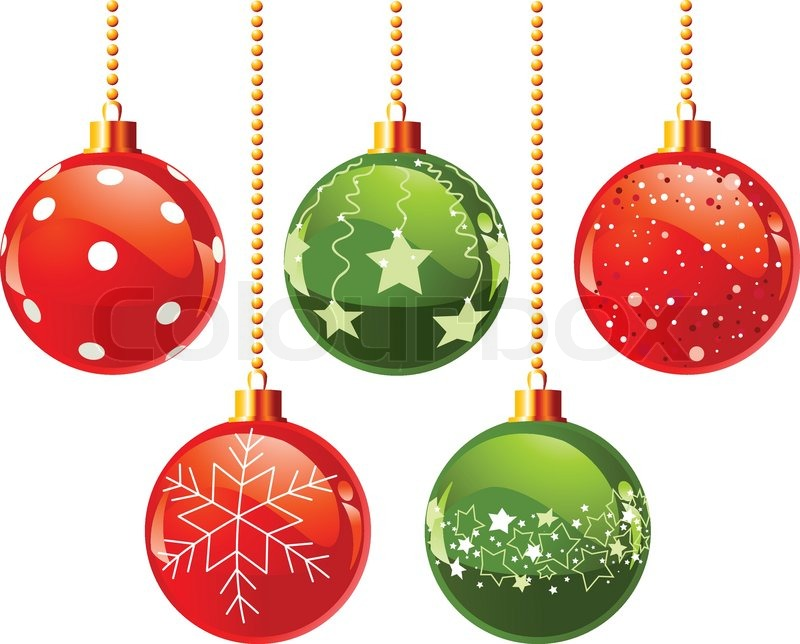 Glass Bells Christmas Decoration
