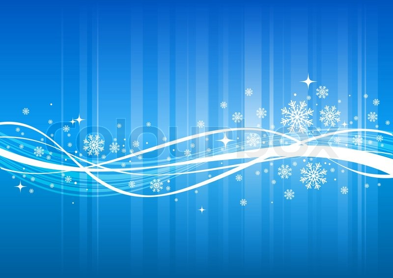Winter Background Vector Free Vector Download 45 386 Free: Blue Winter Background With Snowflakes