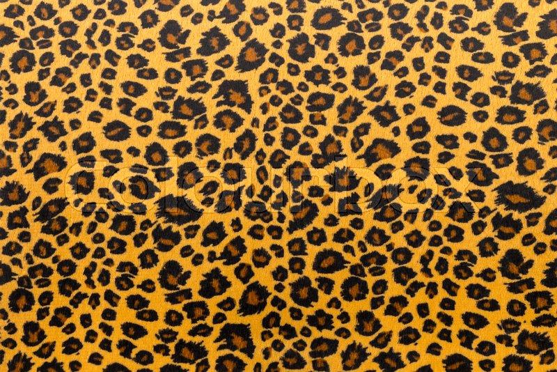 Closeup Artificial Tiger Skin Pattern Background Stock Photo Enchanting Tiger Pattern