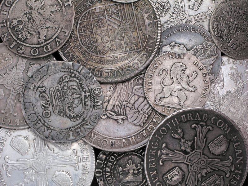 Old Ukrainian Coins Old Silver Coins