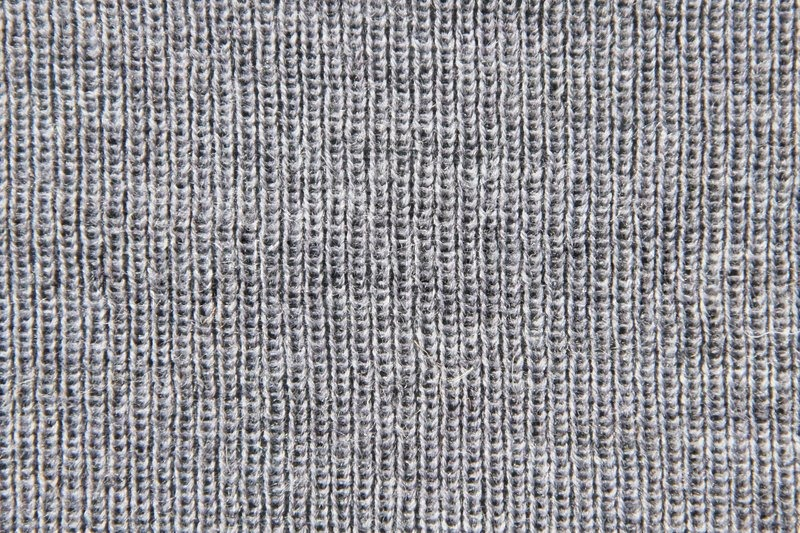 POSSIBILITIES, etc.!: Knitting With Fabric!