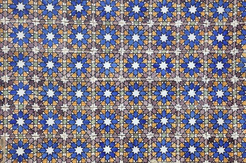 Traditional Portuguese mosaic    | Stock Photo | Colourbox