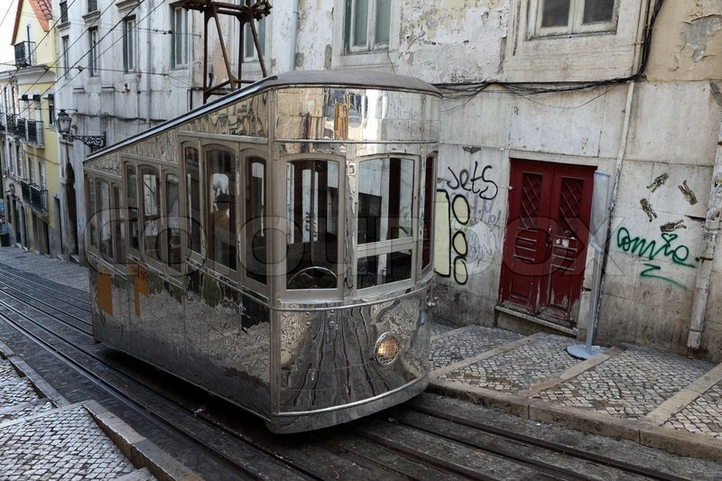 Lisbon Old Cable Car