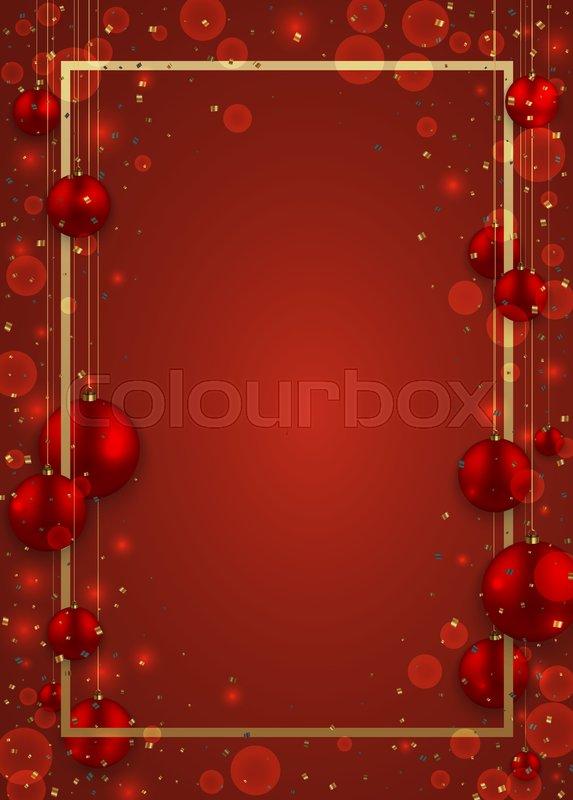 Vector Modern Christmas Or 2018 Happy Stock Vector