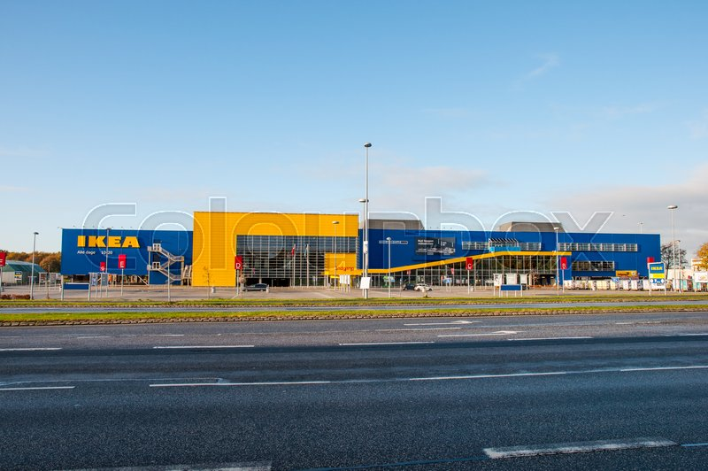 Ikea I Odense Stock Foto Colourbox