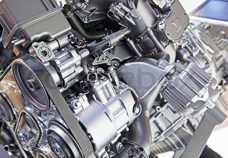 Fantastisch Auto Motor Komponenten Zeitgenössisch - Elektrische ...