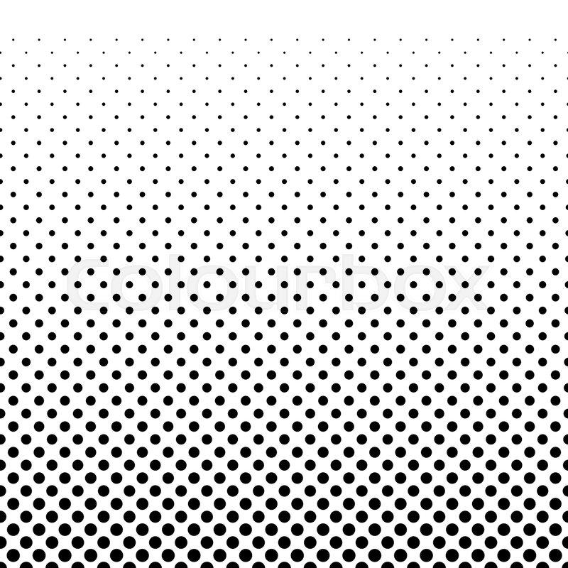 gradient halfton horizontal seamless pattern vector dots background rh colourbox com vector dot pattern free download vector halftone pattern free