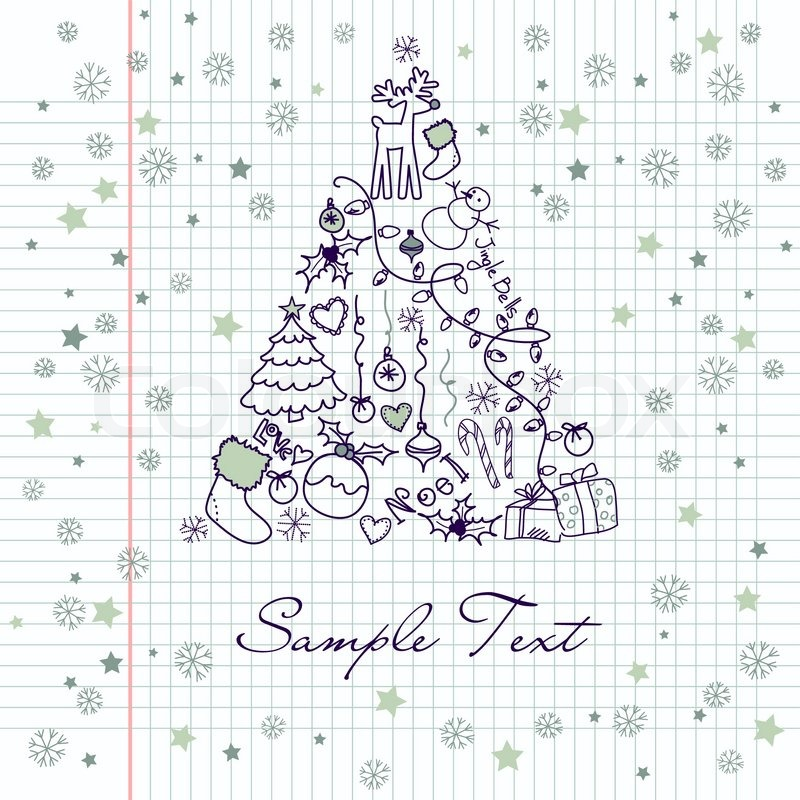 Holiday Season Symbols Cartoon Holiday Symbols