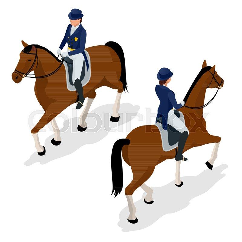 Stock Vector Of Jockey On The Horse Champion Racing Hippodrome