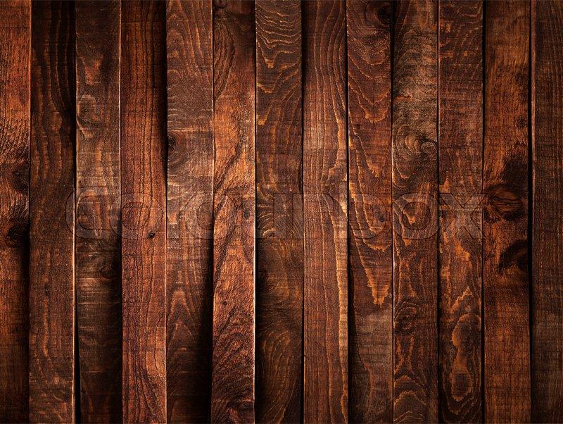 Dark brown wood background or texture ... | Stock Photo ...