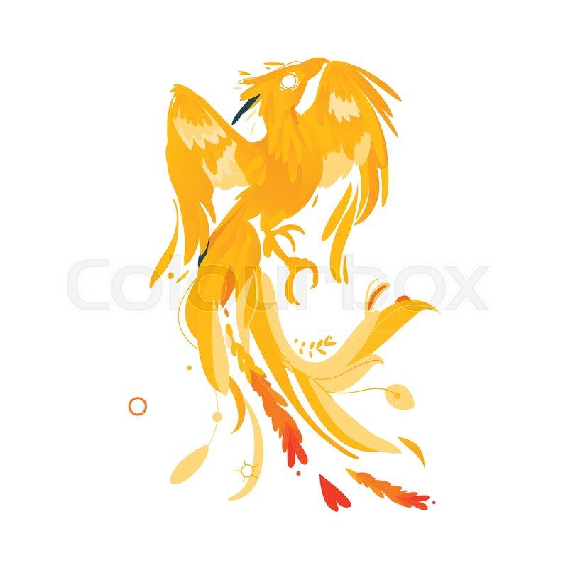 Mythical Mythological Fictional Phoenix Bird Character Rebirth