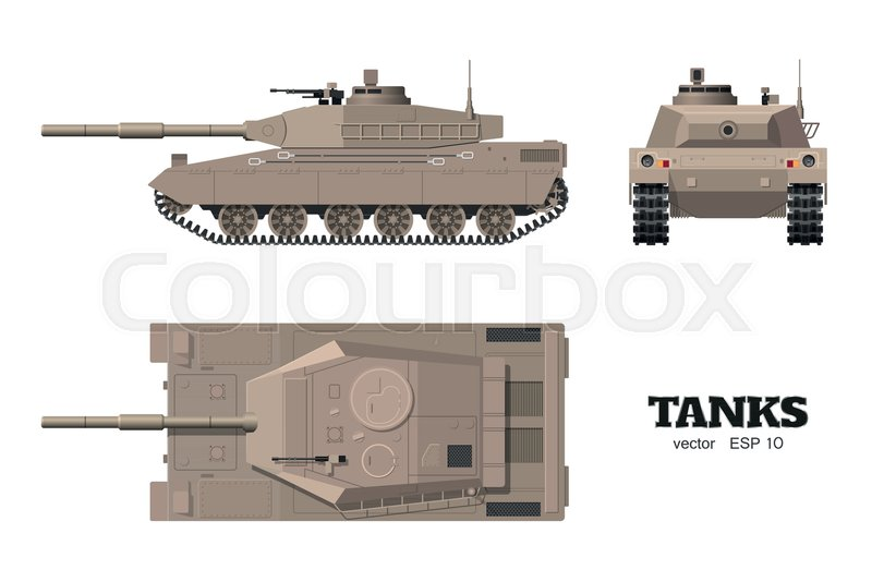 fe12e55f0fa87 Realistic tank blueprint. Armored car ...
