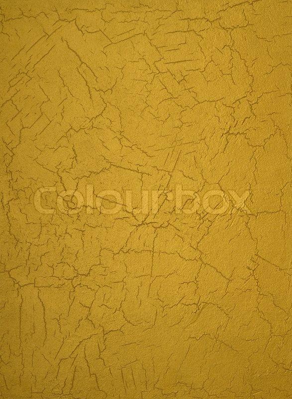 guld maling væg