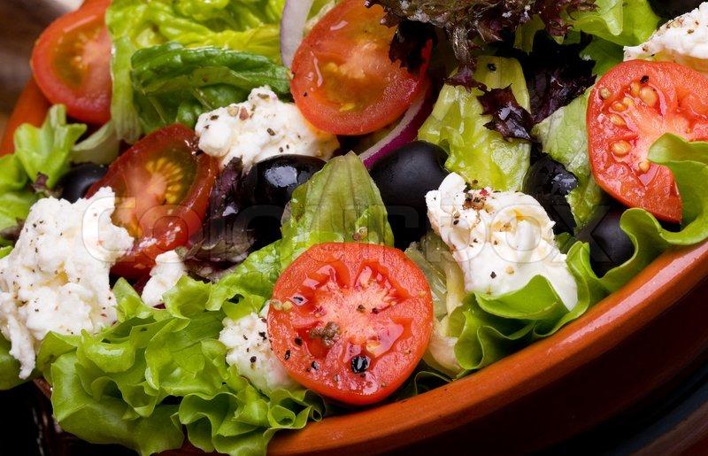Правильное приготовление греческого салата фото
