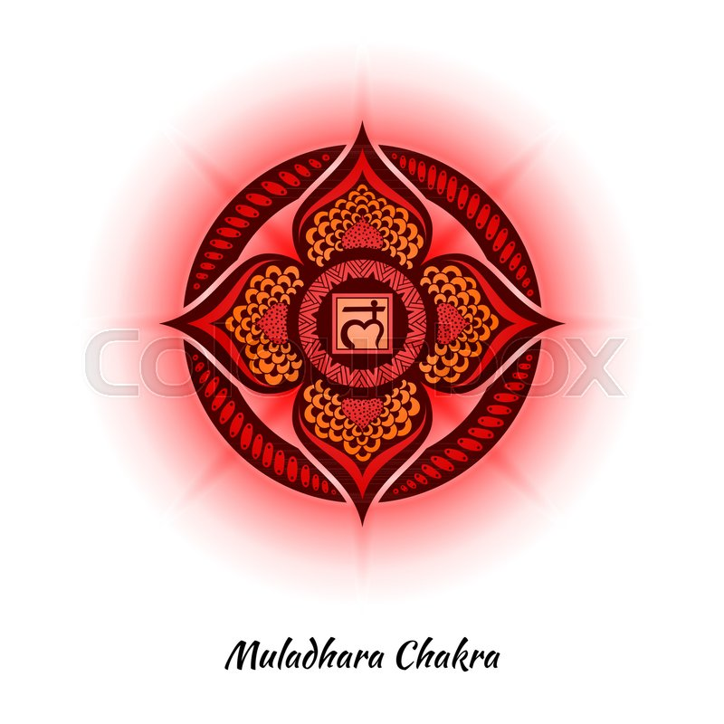 Muladhara Chakra Symbol Used In Hinduism Buddhism Ayurveda The