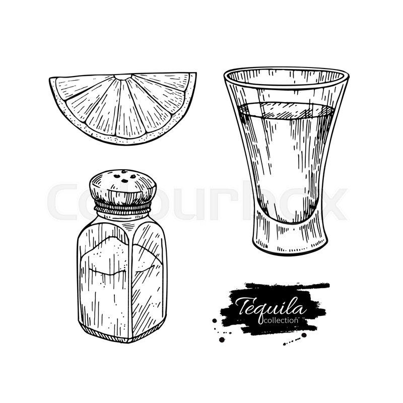 Vintage Cocktail Party Illustration