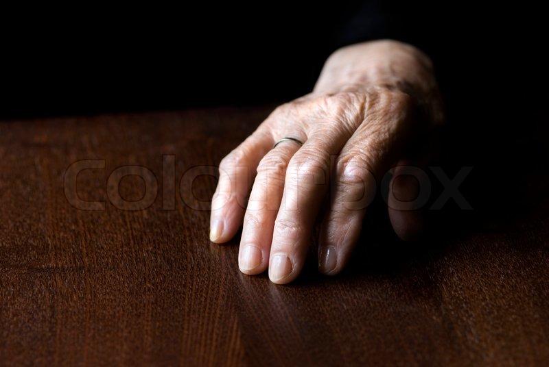 rynkede fingre