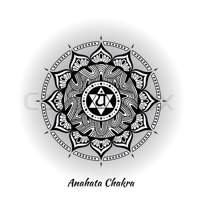 Anahata Chakra Symbol Used In Hinduism Buddhism Ayurveda The Root