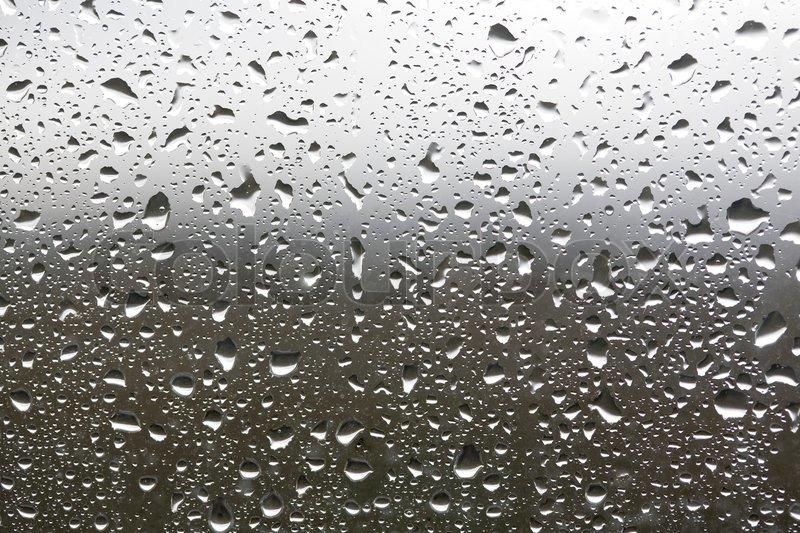 rain drops on a window stock photo colourbox. Black Bedroom Furniture Sets. Home Design Ideas