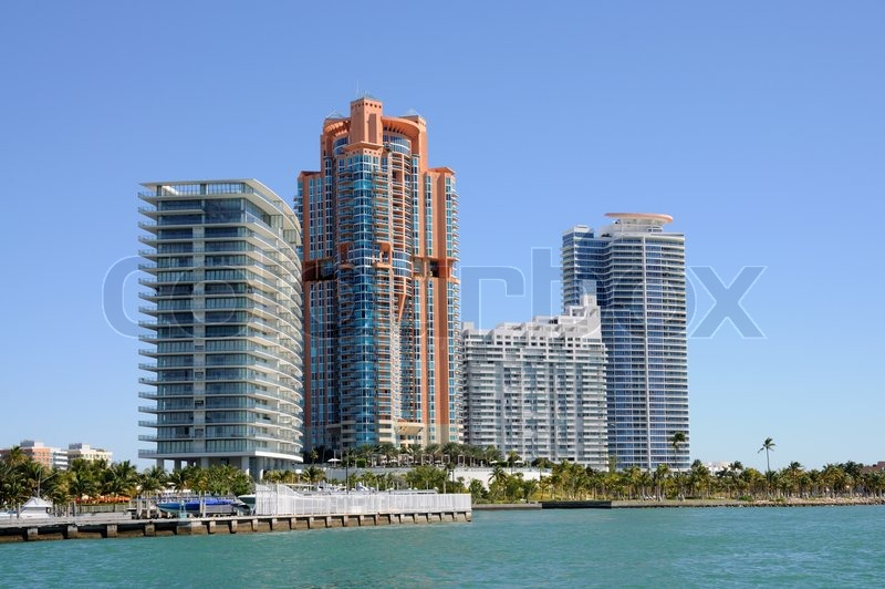 Buildings at Miami Beach
