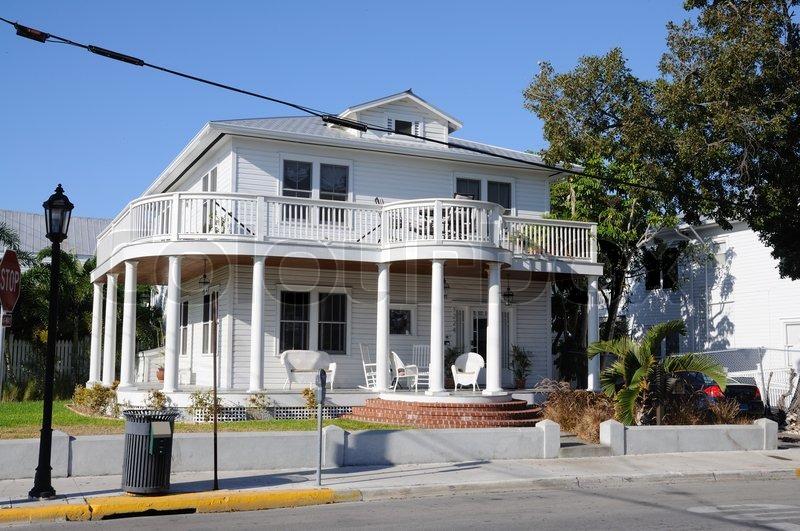 Typische Haus in Key West Florida USA