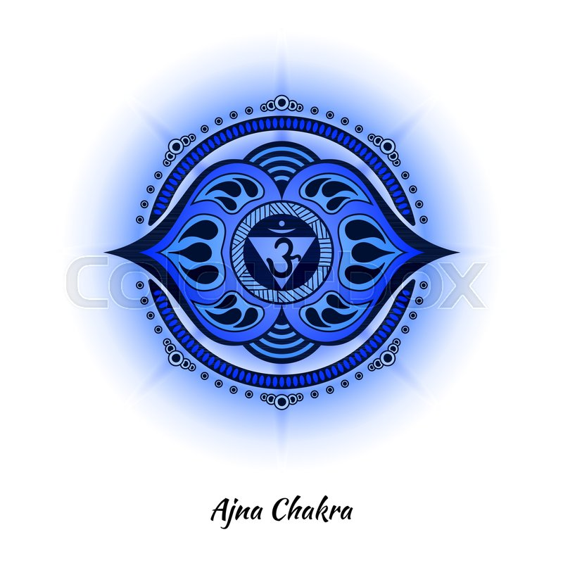 Ajna Chakra Symbol Used In Hinduism Buddhism Ayurveda The Root