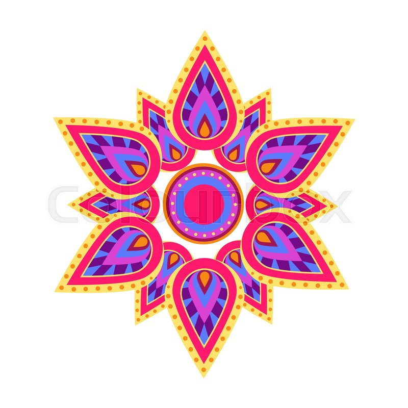 Spiritual And Ritual Symbol In Hinduism Which Is Mandala